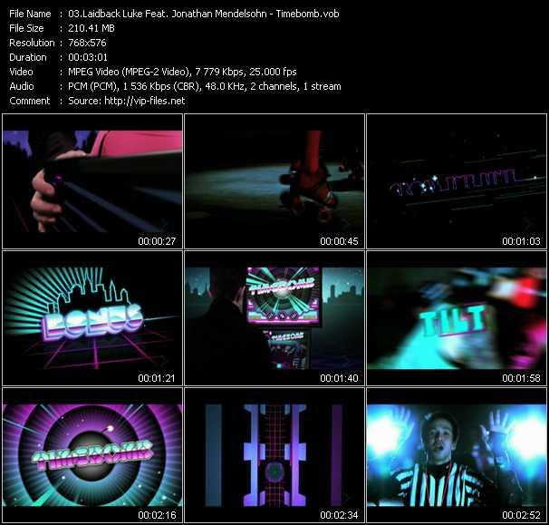Laidback Luke Feat. Jonathan Mendelsohn - Timebomb