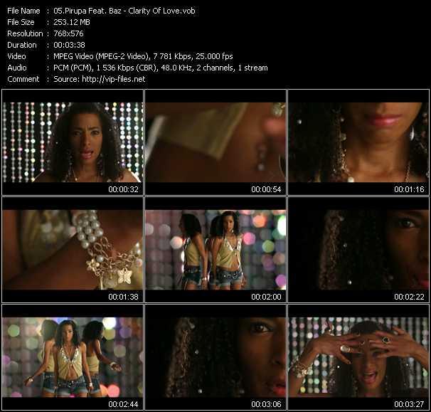 Pirupa Feat. Baz - Clarity Of Love