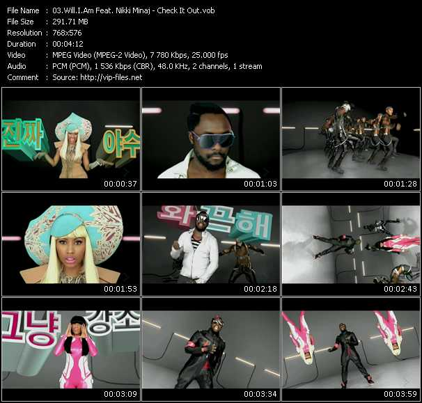 Will.I.Am Feat. Nicki Minaj - Check It Out
