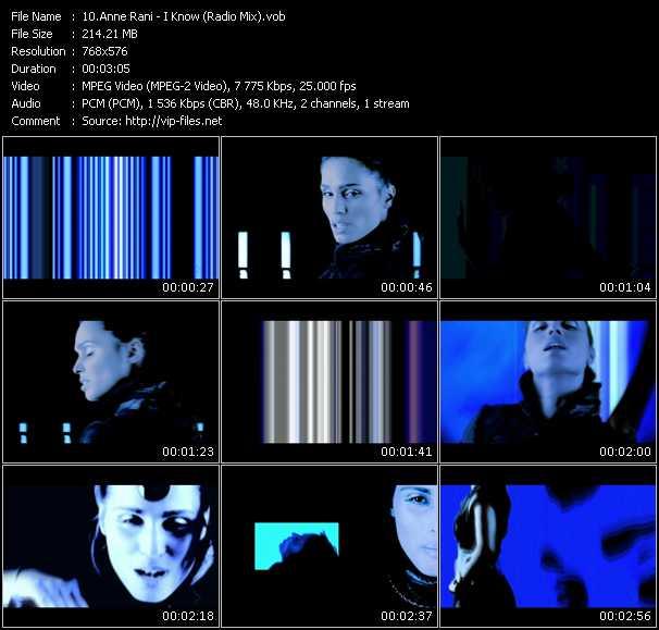 Anne Rani - I Know (Radio Mix)