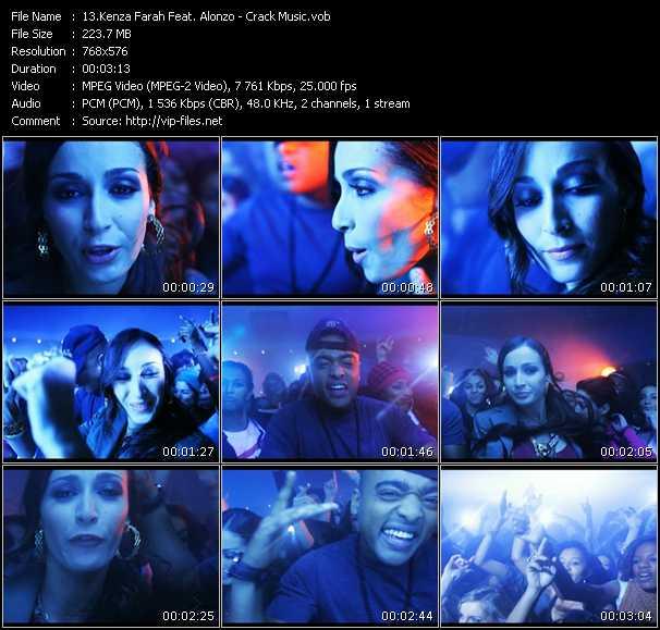 Kenza Farah Feat. Alonzo - Crack Music