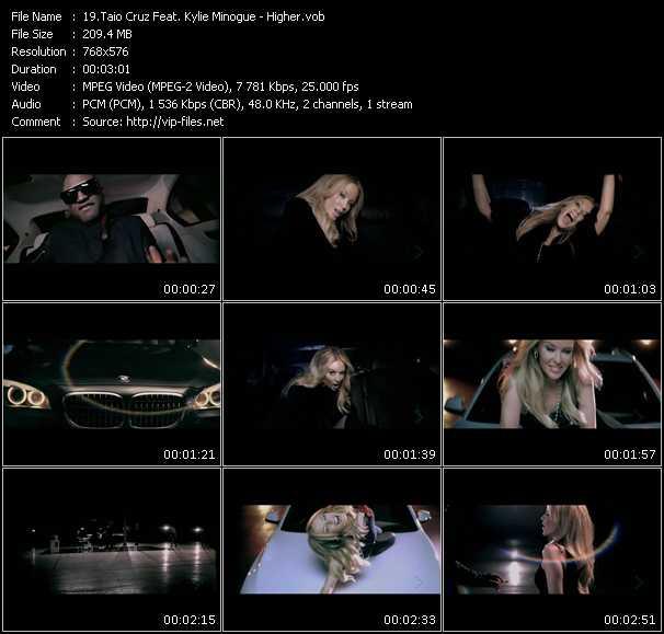 Taio Cruz Feat. Kylie Minogue - Higher