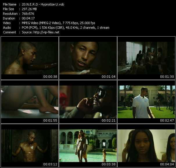 N.E.R.D. - Hypnotize U