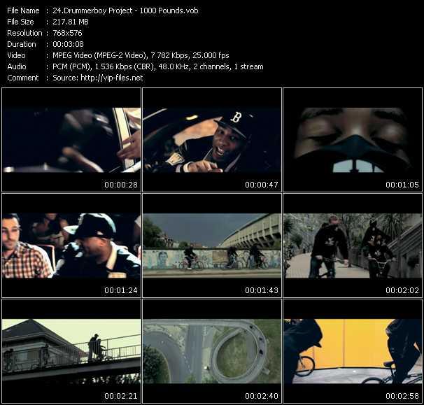 Drummerboy Project - 1000 Pounds