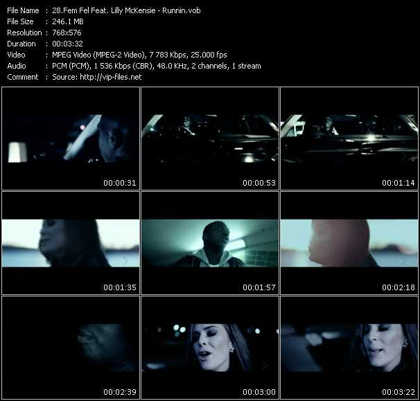 Fem Fel Feat. Lilly McKensie - Runnin