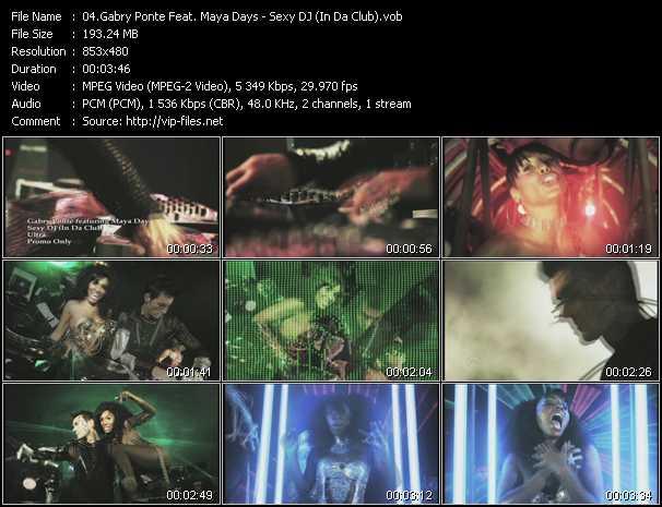 Gabry Ponte Feat. Maya Days - Sexy DJ (In Da Club)