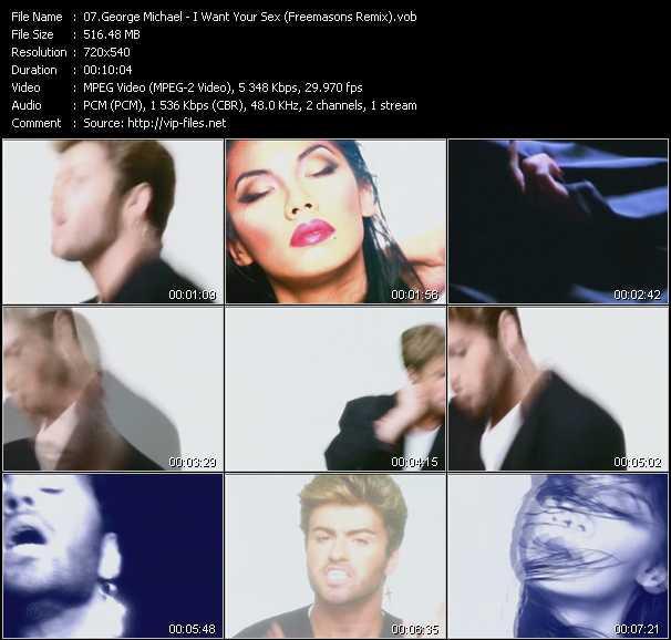 George Michael - I Want Your Sex (Freemasons Remix)