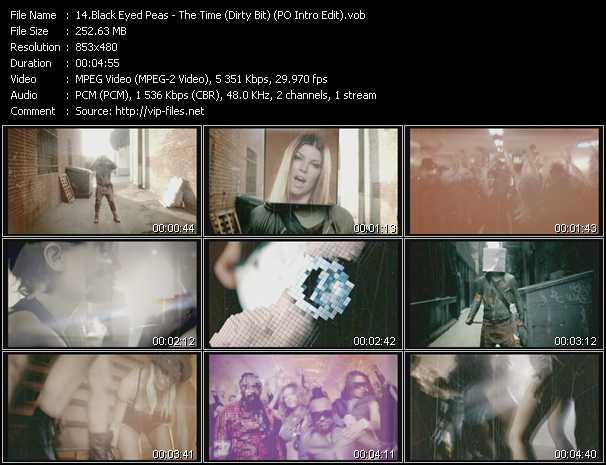Black Eyed Peas - The Time (Dirty Bit) (PO Intro Edit)