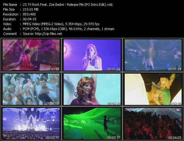 TV Rock Feat. Zoe Badwi - Release Me (PO Intro Edit)