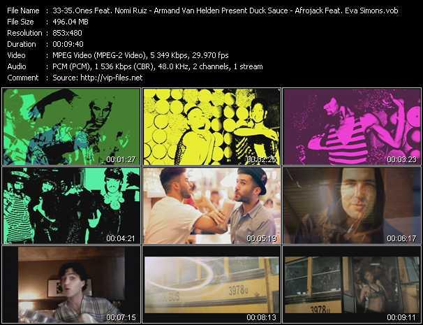 Ones Feat. Nomi Ruiz - Armand Van Helden And A-Trak Present Duck Sauce - Afrojack Feat. Eva Simons - Let's Celebrate - Barbra Streisand - Take Over Control