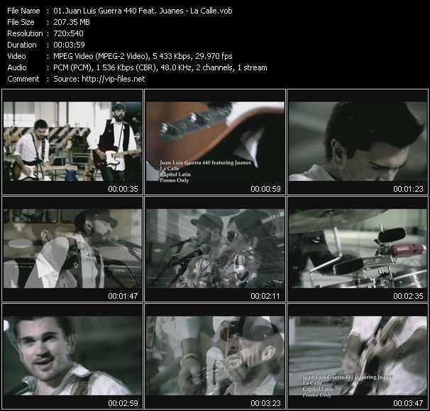 Juan Luis Guerra 440 Feat. Juanes - La Calle