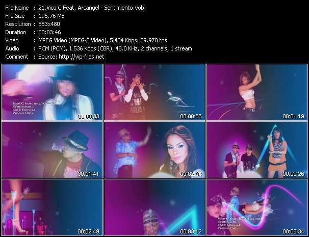 Vico C Feat. Arcangel - Sentimiento