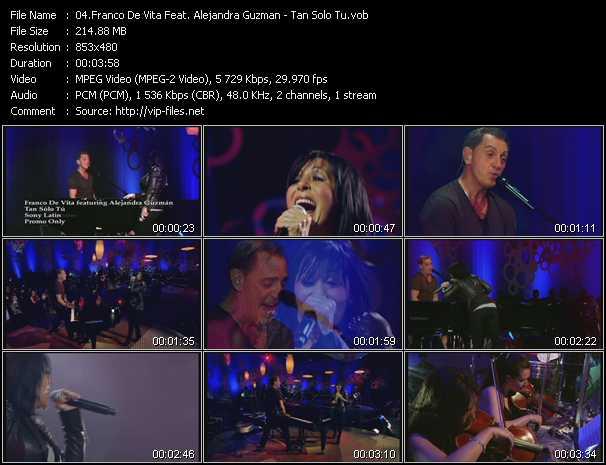 Franco De Vita Feat. Alejandra Guzman - Tan Solo Tu