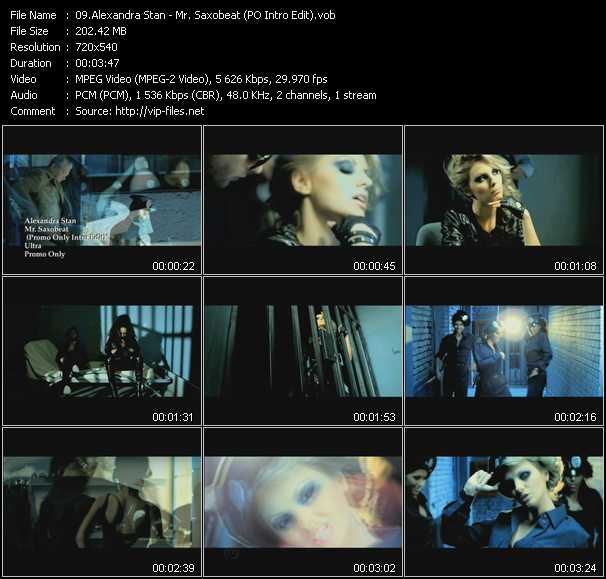 Alexandra Stan - Mr. Saxobeat (PO Intro Edit)
