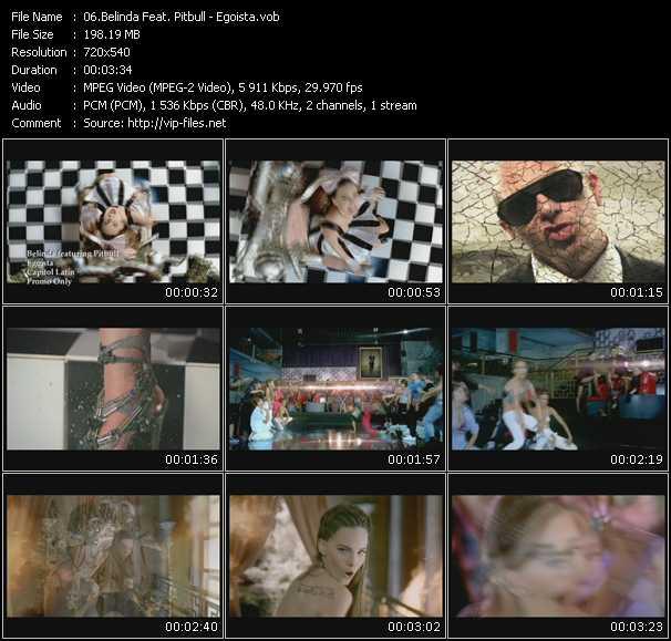 Belinda Feat. Pitbull - Egoista