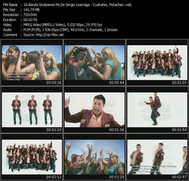 Banda Sinaloense Ms De Sergio Lizarraga - Cuahates, Pistaches