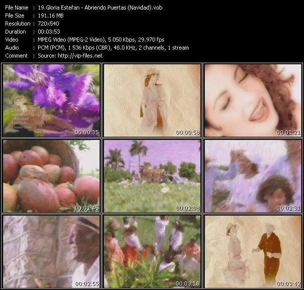Gloria Estefan - Abriendo Puertas (Navidad)