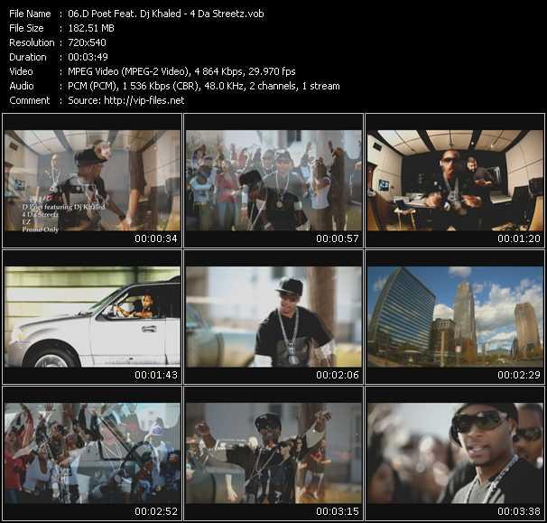 D Poet Feat. Dj Khaled - 4 Da Streetz