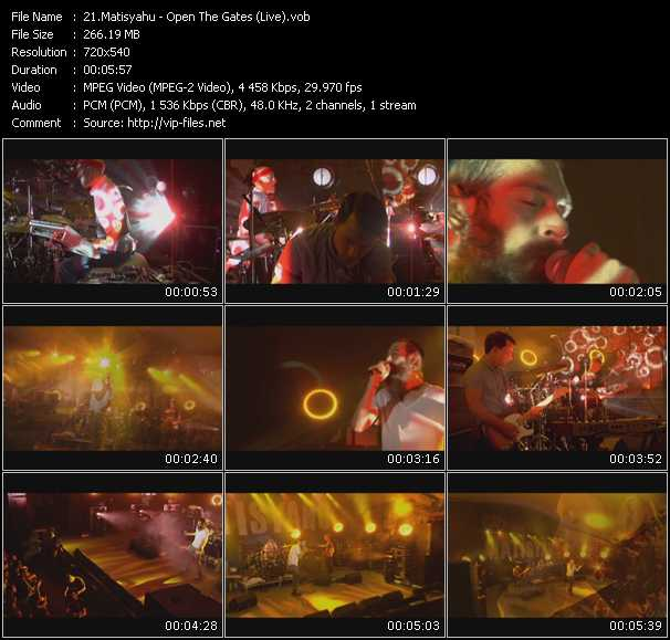 Matisyahu - Open The Gates (Live)