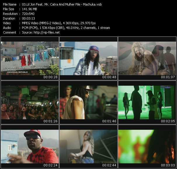 Lil' Jon Feat. Mr. Catra And Mulher File - Machuka