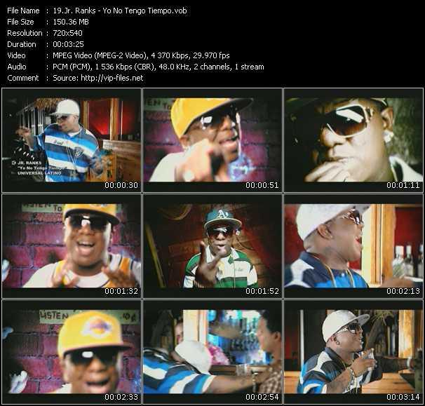 Jr. Ranks - Yo No Tengo Tiempo