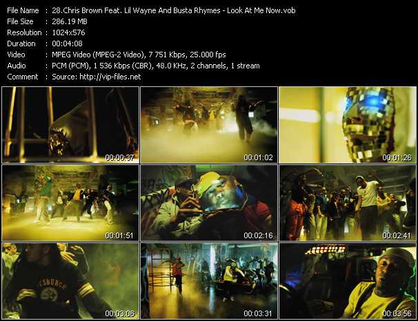 Chris Brown Feat. Lil' Wayne And Busta Rhymes - Look At Me Now
