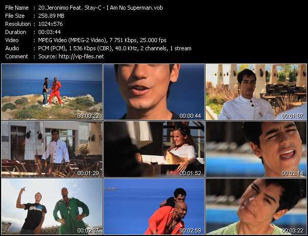 Jeronimo Feat. Stay-C - I Am No Superman