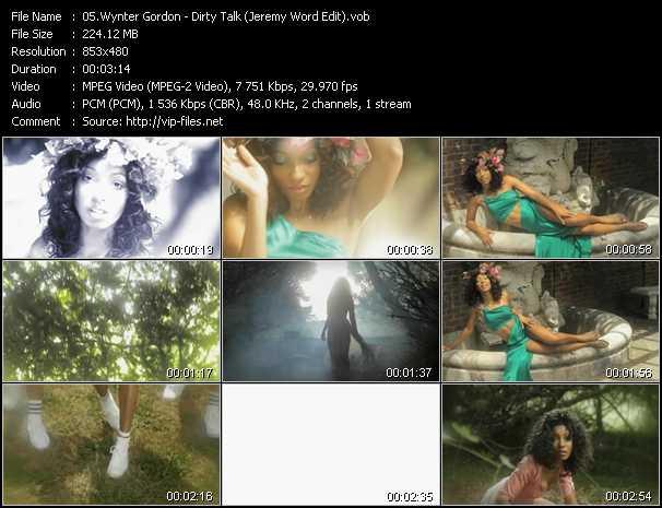 Wynter Gordon - Dirty Talk (Jeremy Word Edit)