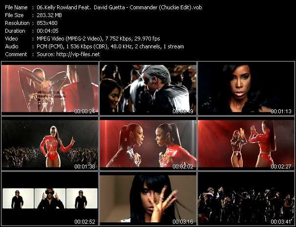 Kelly Rowland Feat. David Guetta - Commander (Chuckie Edit)