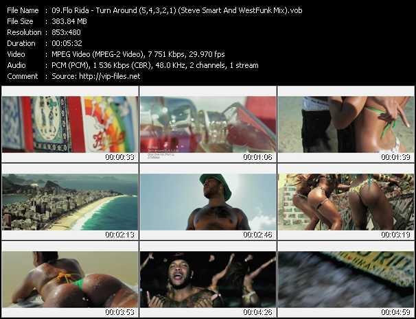 Flo Rida - Turn Around (5,4,3,2,1) (Steve Smart And WestFunk Mix)
