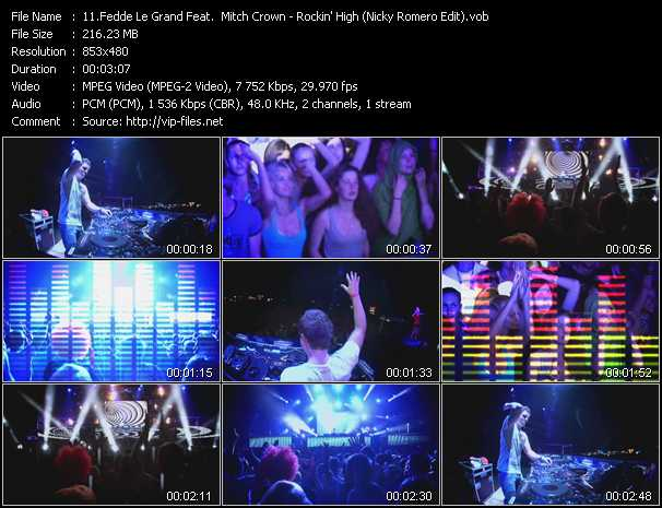 Fedde Le Grand Feat. Mitch Crown - Rockin' High (Nicky Romero Edit)