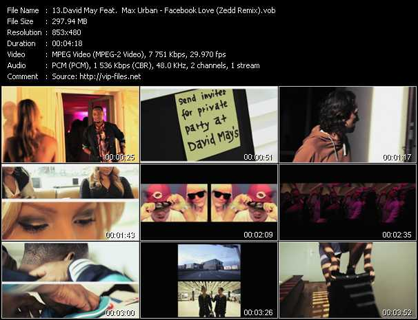 David May Feat. Max Urban - Facebook Love (Zedd Remix)