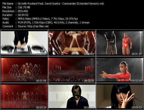 Kelly Rowland Feat. David Guetta - Commander (Extended Version)