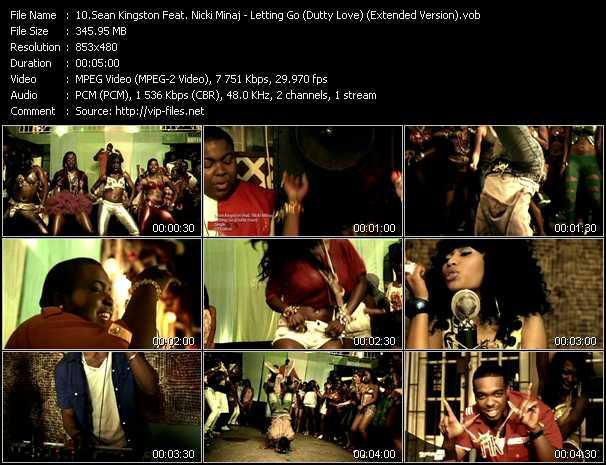 Sean Kingston Feat. Nicki Minaj - Letting Go (Dutty Love) (Extended Version)