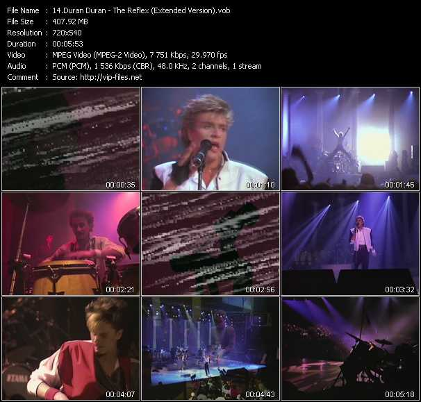 Duran Duran - The Reflex (Extended Version)