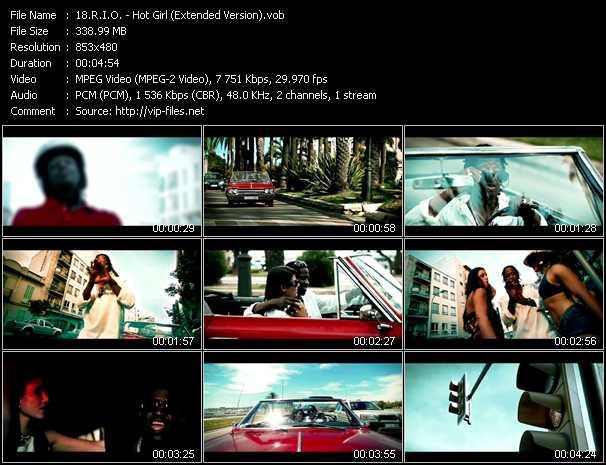 R.I.O. - Hot Girl (Extended Version)