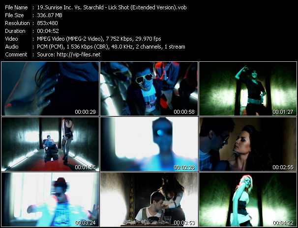 Sunrise Inc. Vs. Starchild - Lick Shot (Extended Version)