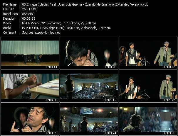 Enrique Iglesias Feat. Juan Luis Guerra - Cuando Me Enamoro (Extended Version)