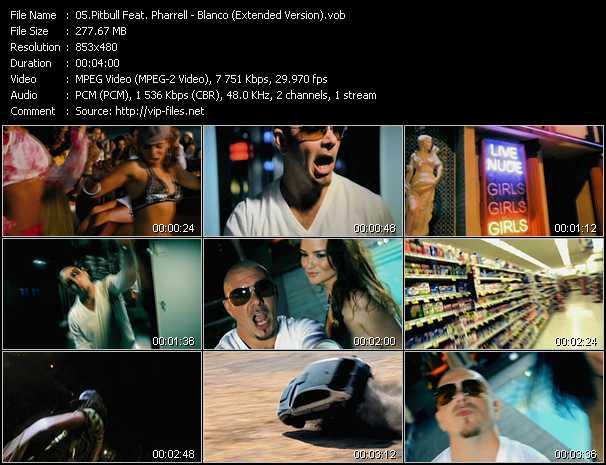 Pitbull Feat. Pharrell Williams - Blanco (Extended Version)