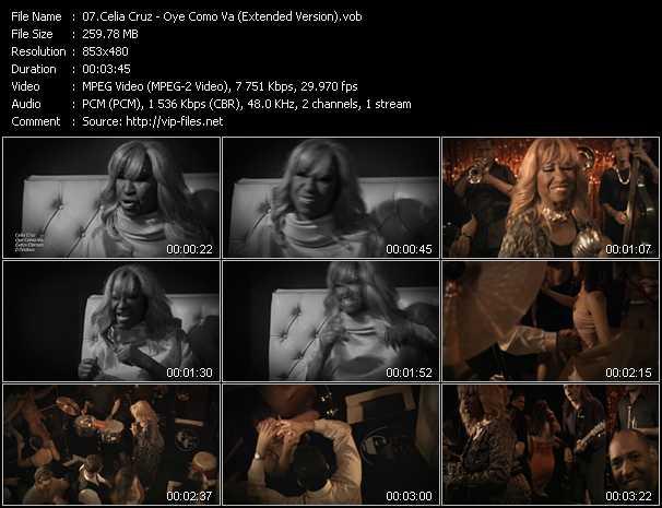 Celia Cruz - Oye Como Va (Extended Version)