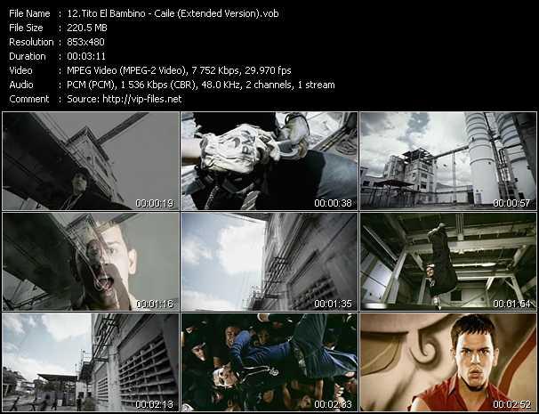 Tito El Bambino - Caile (Extended Version)