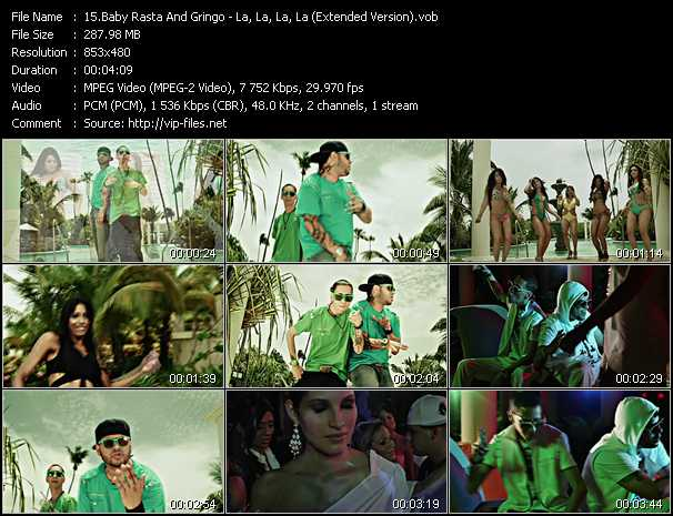 Baby Rasta And Gringo - La, La, La, La (Extended Version)