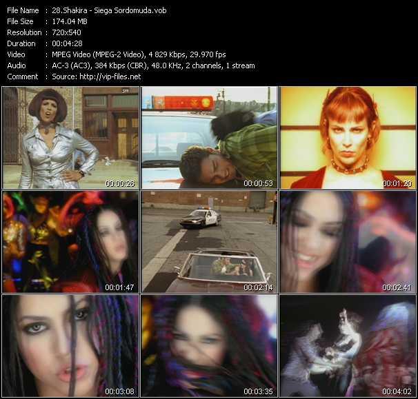 Shakira - Siega Sordomuda