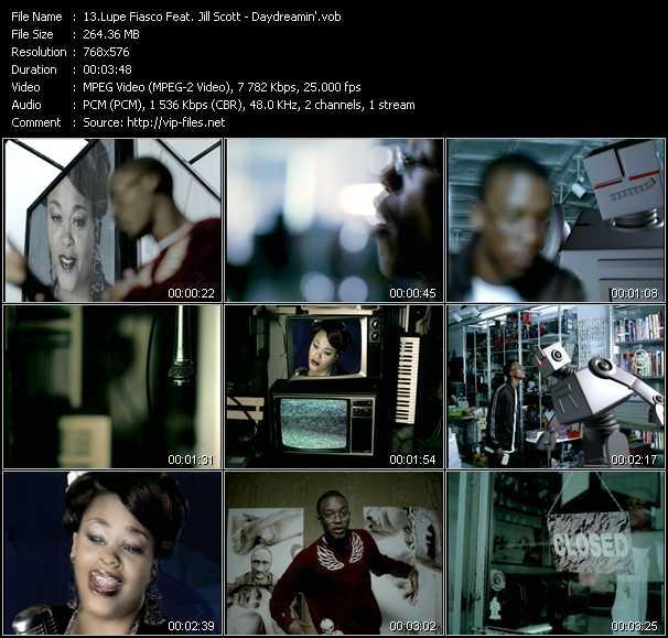 Lupe Fiasco Feat. Jill Scott - Daydreamin'