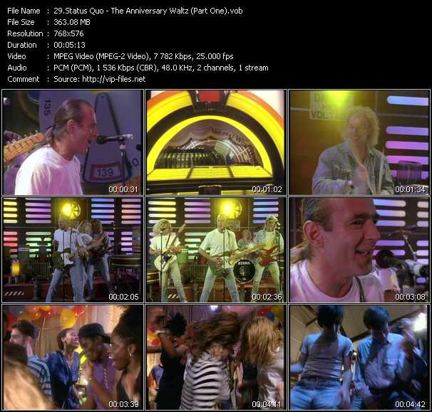 Status Quo - The Anniversary Waltz (Part One)