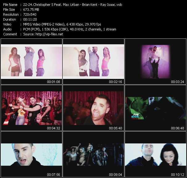 Christopher S Feat. Max Urban - Brian Kent - Ray Isaac - Star - Su-Su-Su-Superstar - U Want Or U Don't (DJ Dex High Energy Club Edit)