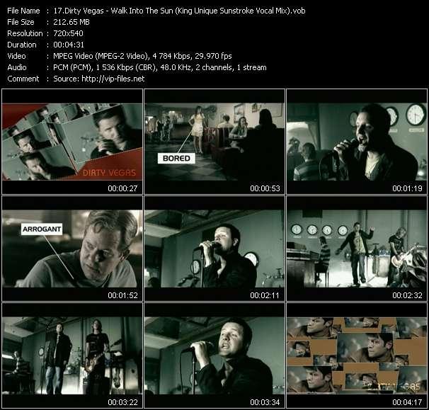 Dirty Vegas - Walk Into The Sun (King Unique Sunstroke Vocal Mix)
