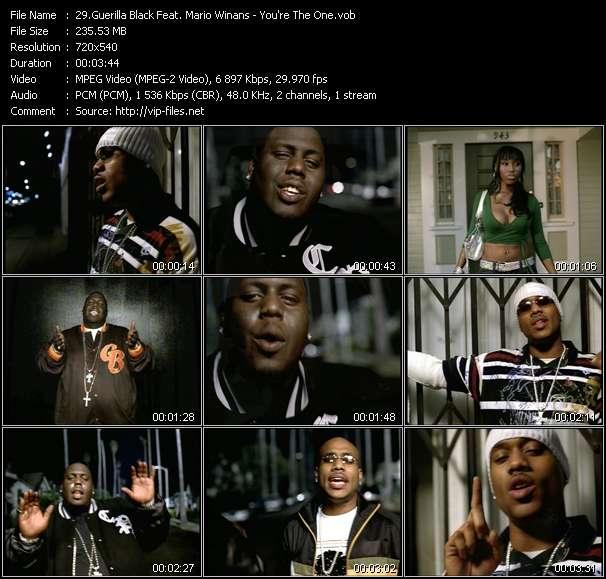 Guerilla Black Feat. Mario Winans - You're The One