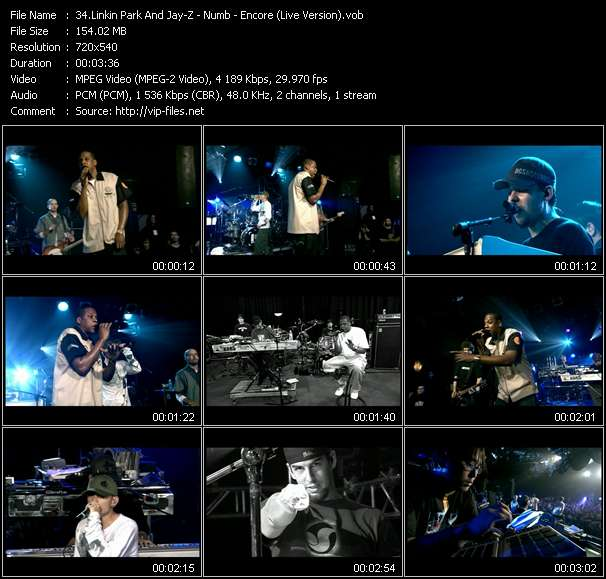 Linkin Park And Jay-Z - Numb - Encore (Live Version)