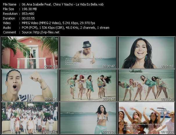 Ana Isabelle Feat. Chino And Nacho - La Vida Es Bella